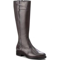 Oficerki TAMARIS - 1-25520-29 Anthracite 214. Szare buty zimowe damskie marki Tamaris, z materiału, na sznurówki. W wyprzedaży za 309,00 zł.