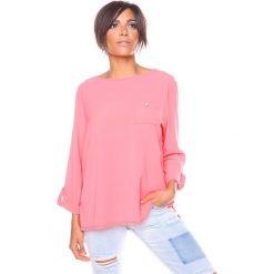 """T-shirty damskie: Koszulka """"Manon"""" w kolorze koralowym"""