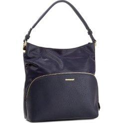 Torebka MONNARI - BAG7710-013 Navy. Niebieskie torebki klasyczne damskie Monnari, ze skóry ekologicznej, duże. W wyprzedaży za 149,00 zł.