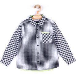 Coccodrillo - Koszula dziecięca 92-122 cm. Białe koszule chłopięce z długim rękawem marki COCCODRILLO, m, z bawełny, z okrągłym kołnierzem. Za 65,90 zł.