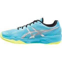 ASICS VOLLEY ELITE FF Obuwie do siatkówki aquarium/silver. Różowe buty do fitnessu damskie marki Mizuno. Za 629,00 zł.