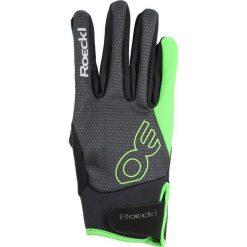 Rękawiczki damskie: Roeckl Sports RIGA Rękawiczki pięciopalcowe schwarz/grün