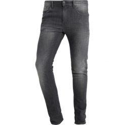 Jeansy męskie regular: Casual Friday Jeans Skinny Fit ebony
