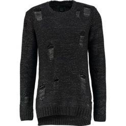 Swetry klasyczne męskie: Black Kaviar KARNABY Sweter black