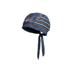 Playshoes  Czapka UV Ahoi niebieski. Niebieskie czapeczki niemowlęce Playshoes, z elastanu. Za 35,00 zł.
