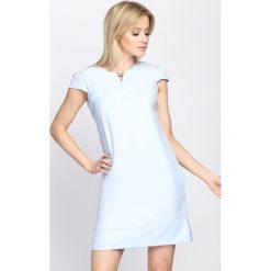 Sukienki: Niebieska Sukienka Bossed Up
