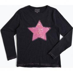Review - Dziewczęca koszulka z długim rękawem, niebieski. Niebieskie bluzki dziewczęce z długim rękawem marki Review. Za 79,95 zł.