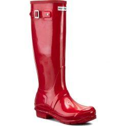 Buty zimowe damskie: Kalosze HUNTER - Original Gloss WFT1000RGL Pillar Box Red