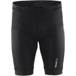Craft Spodnie Rowerowe Balance Black M. Czarne odzież rowerowa męska Craft, z materiału, sportowe. W wyprzedaży za 179,00 zł.