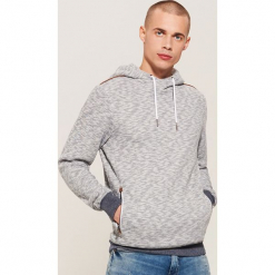 Bluza hoodie - Granatowy. Niebieskie bluzy męskie House, l. Za 129,99 zł.