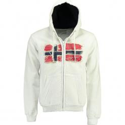 """Bluza """"Gayto"""" w kolorze kremowym. Białe bluzy męskie Geographical Norway Men, m, z haftami. W wyprzedaży za 136,95 zł."""