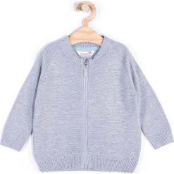 Coccodrillo - Sweter dziecięcy 62-86 cm. Białe kardigany męskie marki COCCODRILLO, m, z bawełny, z okrągłym kołnierzem. Za 69,90 zł.