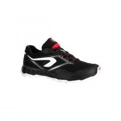 Buty do biegania Kiprun Trail XT 7 męskie. Czarne buty do biegania męskie KALENJI, z gumy. W wyprzedaży za 199,99 zł.