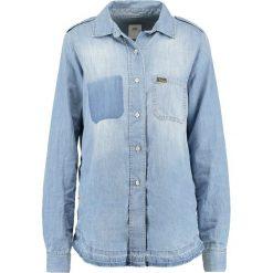 LOIS Jeans WORKSHIRT Koszula stone. Niebieskie koszule jeansowe damskie marki LOIS Jeans, l. Za 549,00 zł.