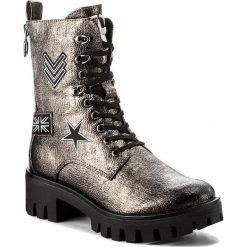 Trapery TAMARIS - 1-25755-39 Pewter 915. Szare buty zimowe damskie Tamaris, ze skóry ekologicznej. W wyprzedaży za 189,00 zł.
