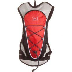 """Plecak """"Dromad"""" w kolorze czerwono-szaro-czarnym z bukłakiem - 20 x 40 x 5 cm. Czarne plecaki męskie Elementerre, w paski, z tkaniny. W wyprzedaży za 56,95 zł."""