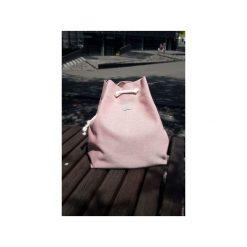 Plecak CITY BAG PINK. Czerwone plecaki damskie Intensi, z bawełny. Za 149,00 zł.