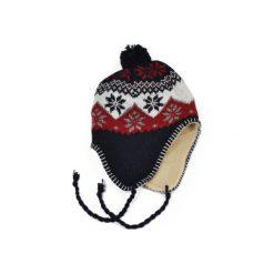 Czapka damska Peru granatowo czerwona. Czerwone czapki zimowe damskie marki Art of Polo. Za 21,37 zł.