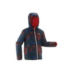 Kurtka SKI-P 100 WARM. Czerwone kurtki chłopięce przeciwdeszczowe WED'ZE. Za 129,99 zł.