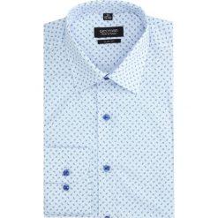 Koszula versone 2844e długi rękaw slim fit niebieski. Szare koszule męskie slim marki Recman, na lato, l, w kratkę, button down, z krótkim rękawem. Za 149,00 zł.