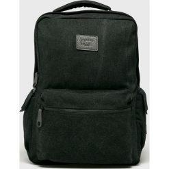 Caterpillar - Plecak Square. Czarne plecaki męskie Caterpillar, z bawełny. Za 219,90 zł.