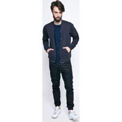 G-Star Raw - Bluza. Czarne bluzy męskie rozpinane marki G-Star RAW, l, z bawełny, bez kaptura. W wyprzedaży za 319,90 zł.