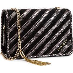 Torebka TWINSET - Tracolla Picc 0A8TD2 Nero 00006. Czarne torebki klasyczne damskie Twinset, ze skóry ekologicznej. Za 959,00 zł.