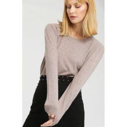 Swetry damskie: Khaki Sweter Importance
