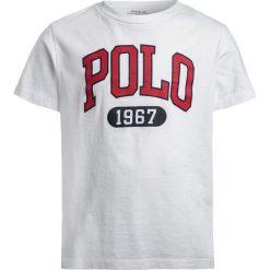 Polo Ralph Lauren ICON  Tshirt z nadrukiem white. Białe t-shirty chłopięce Polo Ralph Lauren, z nadrukiem, z bawełny. Za 129,00 zł.