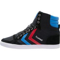 Trampki męskie: Hummel SLIMMER STADIL Tenisówki i Trampki wysokie black/blue/red