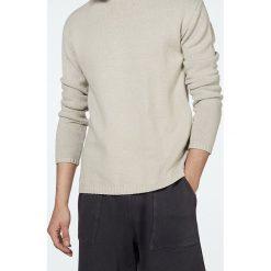 """Swetry klasyczne męskie: Sweter """"Cifferton"""" w kolorze beżowym"""