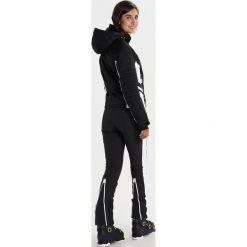 Superdry SUPER SLALOM Kurtka snowboardowa black. Szare kurtki damskie narciarskie marki Superdry, l, z nadrukiem, z bawełny, z okrągłym kołnierzem. W wyprzedaży za 871,20 zł.