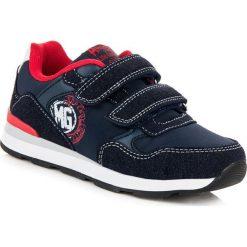 Buty dziecięce: CHŁOPIĘCE BUTY SPORTOWE AMERICAN American Club niebieskie