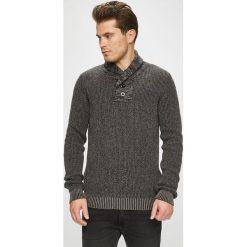 Jack & Jones - Sweter. Szare swetry klasyczne męskie Jack & Jones, l, z bawełny. W wyprzedaży za 139,90 zł.