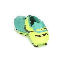 Buty do piłki nożnej Nike  TIEMPO GENIO LEATHER II FIRM-GROUND. Zielone buty skate męskie Nike, do piłki nożnej. Za 188,30 zł.