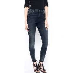 Medicine - Jeansy Decadent. Szare jeansy damskie MEDICINE, z bawełny, z podwyższonym stanem. W wyprzedaży za 99,90 zł.