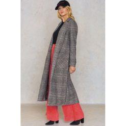 Płaszcze damskie pastelowe: Glamorous Długi płaszcz z kieszeniami – Grey,Multicolor