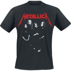 Metallica Four Faces T-Shirt czarny. Czarne t-shirty męskie z nadrukiem Metallica, s, z dekoltem na plecach. Za 74,90 zł.