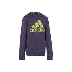 Bluza fitness ADIDAS. Niebieskie bluzy chłopięce marki Adidas. W wyprzedaży za 89,99 zł.