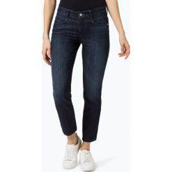 Cambio - Jeansy damskie – Posh, niebieski. Niebieskie spodnie z wysokim stanem Cambio, z jeansu. Za 399,95 zł.