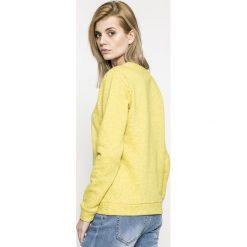 Jacqueline de Yong - Bluza Tori. Szare bluzy z nadrukiem damskie marki Jacqueline de Yong, l, z bawełny, bez kaptura. W wyprzedaży za 39,90 zł.
