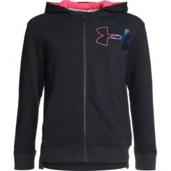 Bluzy chłopięce: Under Armour THREADBORNE TERRY FULL ZIP  Bluza rozpinana black