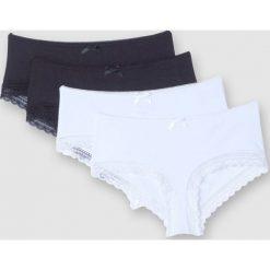 Bokserki ciążowe (4 szt.). Szare bielizna ciążowa marki La Redoute Collections, z bawełny. Za 79,34 zł.