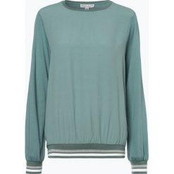 Marie Lund - Damska koszulka z długim rękawem, zielony. Zielone bluzki sportowe damskie Marie Lund, m, prążkowane, z kontrastowym kołnierzykiem, z długim rękawem. Za 129,95 zł.