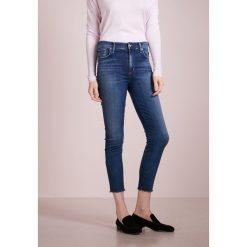 Agolde SOPHIE CROPPED SKINNY Jeans Skinny Fit blue denim. Niebieskie jeansy damskie Agolde, z bawełny. Za 829,00 zł.