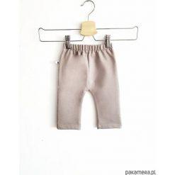 Spodnie niemowlęce: Spodnie beige