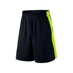 """Nike Spodenki Sportowe Fly 9"""" 742517 011 L. Czarne spodenki sportowe męskie marki Nike, l. W wyprzedaży za 99,00 zł."""