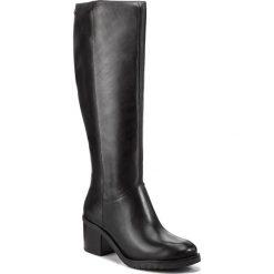 Kozaki CAPRICE - 9-25529-29 Black Nappa 022. Czarne buty zimowe damskie Caprice, ze skóry, na obcasie. Za 549,90 zł.