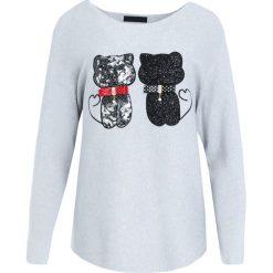 Jasnoszary Sweter See Us. Szare swetry klasyczne damskie Born2be, l. Za 84,99 zł.