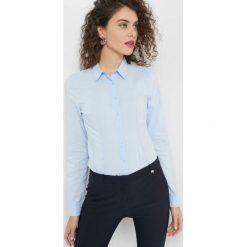 Taliowana koszula. Brązowe koszule damskie marki Orsay, s, z dzianiny. Za 59,99 zł.